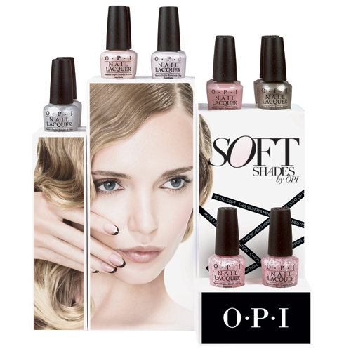 Opi Softshades Lacquer Display 500 500x500