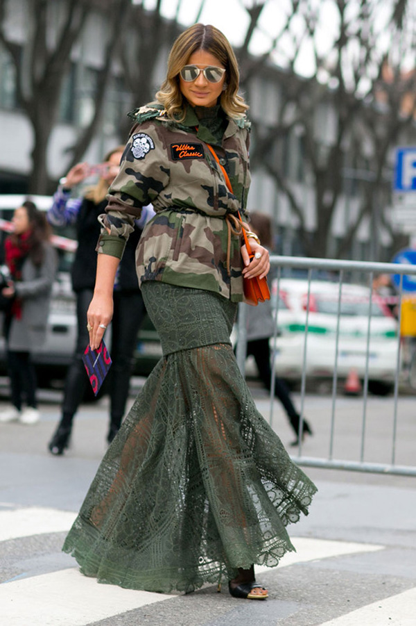 Street Style militar