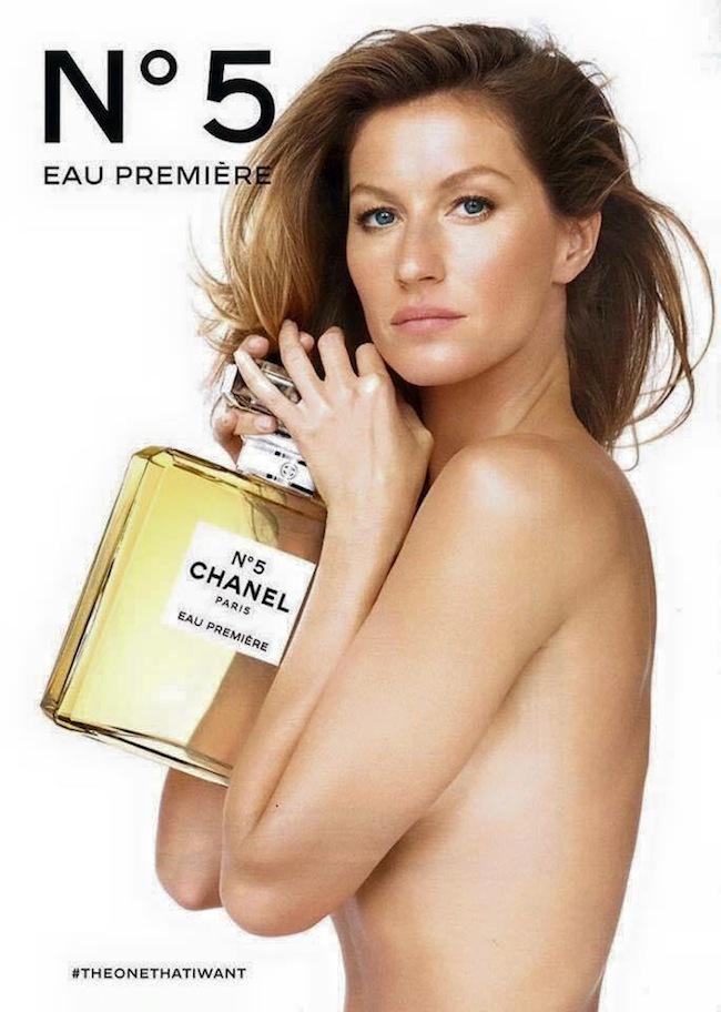 Gisele Bundchen Chanel No 5 Ad Campaign