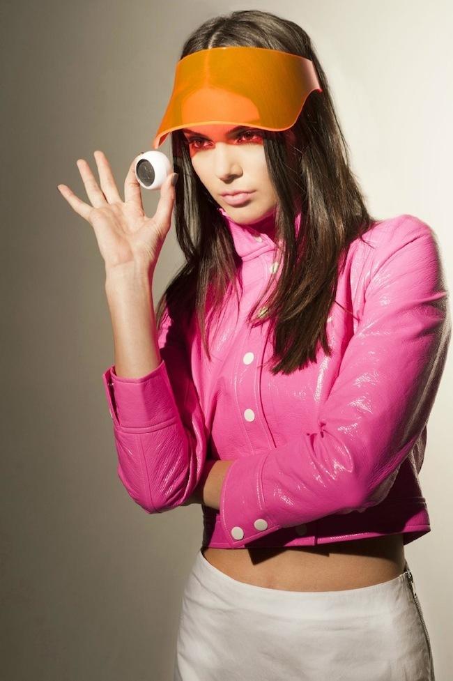Kendall Jenner Courreges Estee Lauder