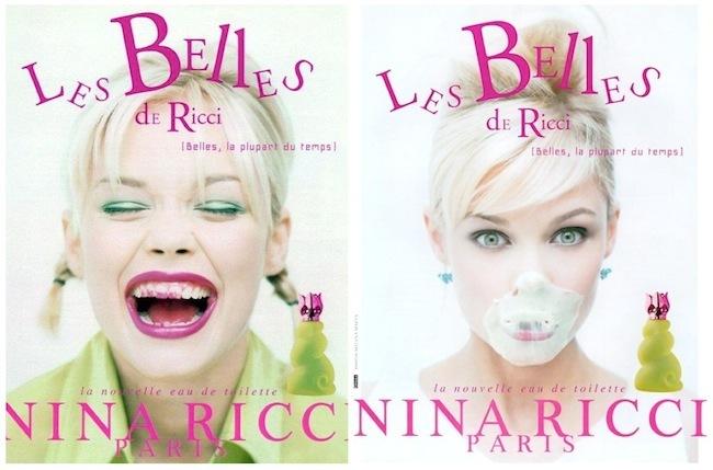 Les Belles Nina Ricci Visuales