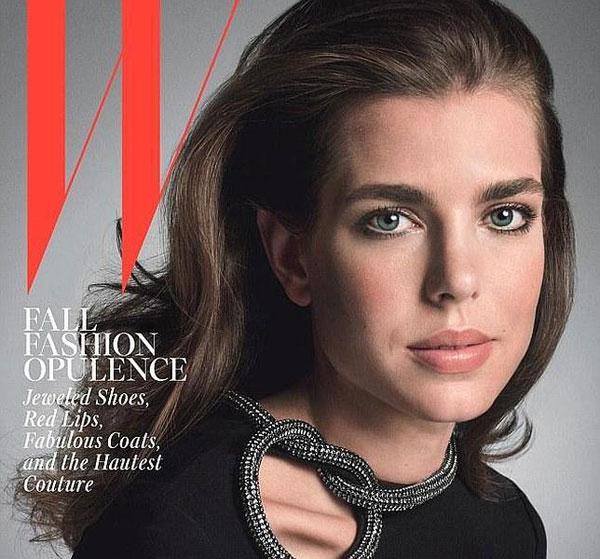 Carlota Casiraghi-W-Magazine