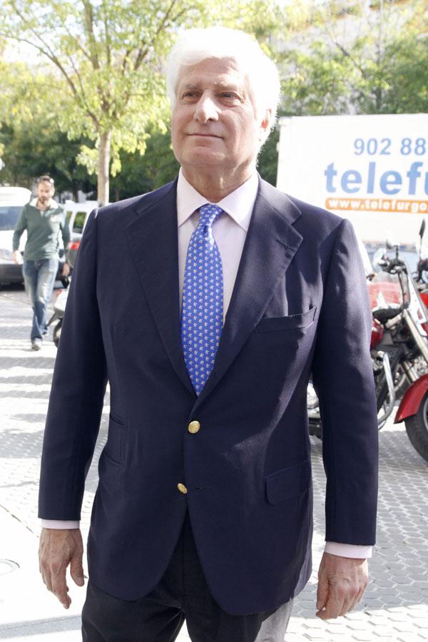 EL DUQUE DE HUESCAR, CARLOS MARTINEZ DE IRUJO EN SEVILLA 17/11/2014 SEVILLA
