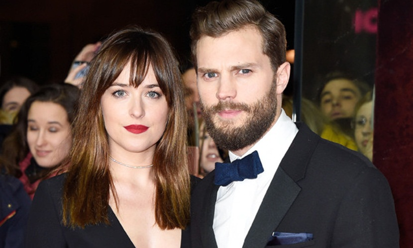 Jamie Dornan y Dakota Johnson Jamie Dornan y Dakota Johnson no merecen un aumento de sueldo