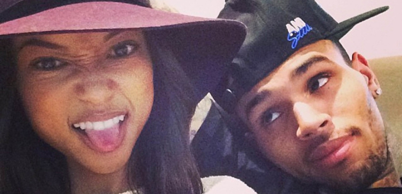 Karrueche Tran y Chris Brown Karrueche Tran le dice adiós a Chris Brown