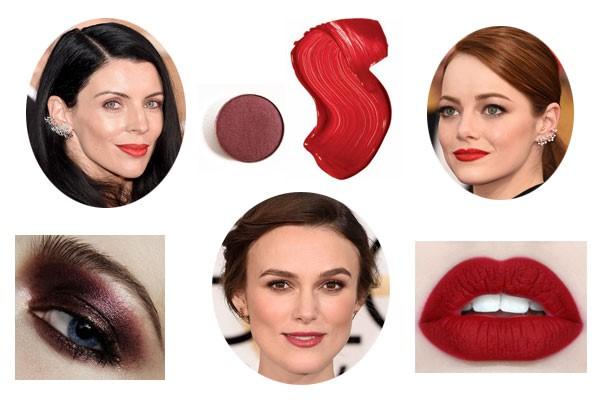 Maquillaje Globos de Oro