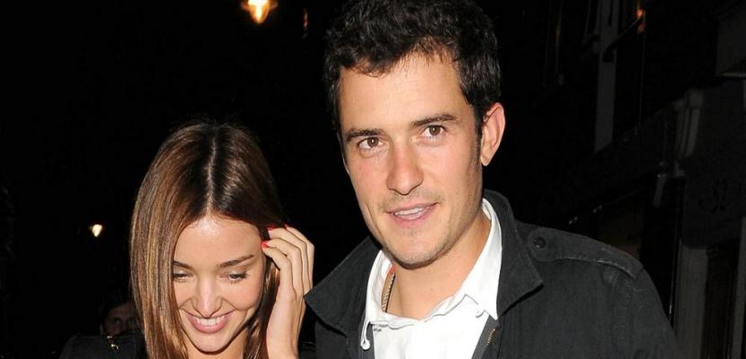 Orlando Bloom y Miranda Kerr Miranda Kerr y Orlando Bloom, amigos con derecho a roce