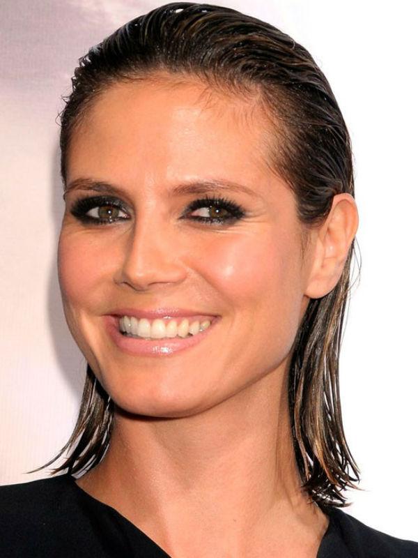 Heidi Klum también se atreve con el 'wet look'