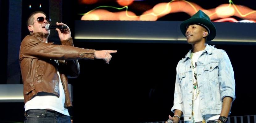 Pharrell Williams y Robin Thicke plagian a Marvin Gaye