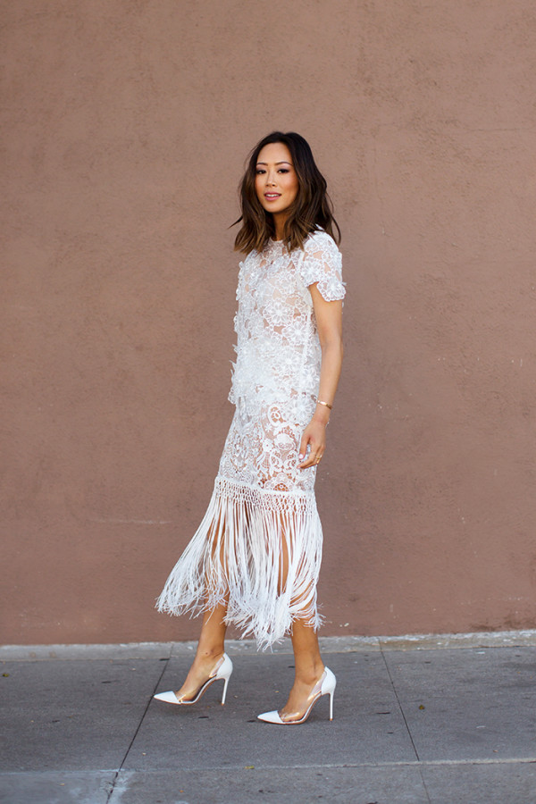 aimee_song_white_self_portrait_lace_top_fringe_skirt