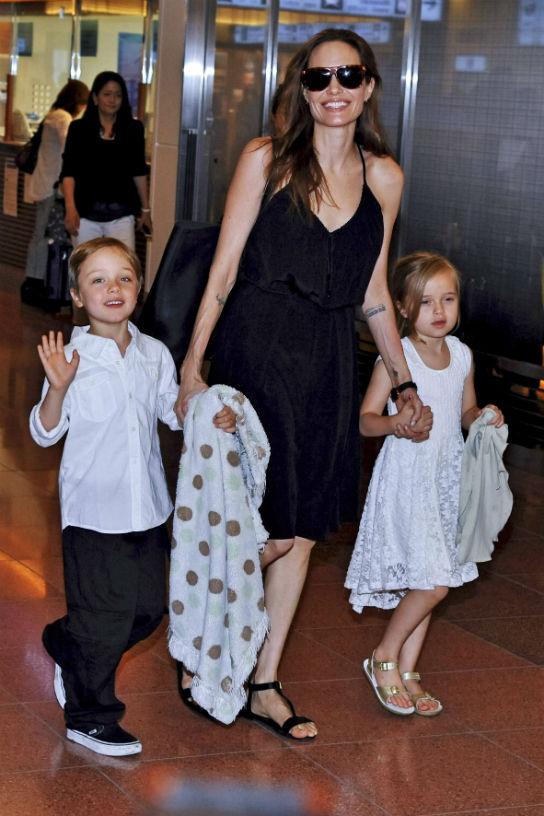 Angelina Jolie Knox Vivienne