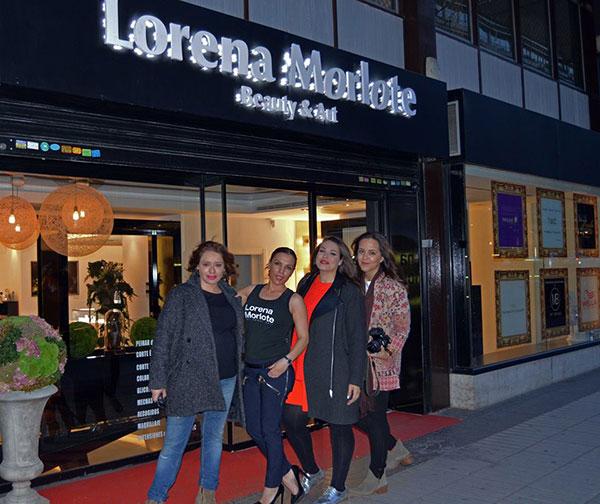 Aranta, Lorena Morlote, María y Obe