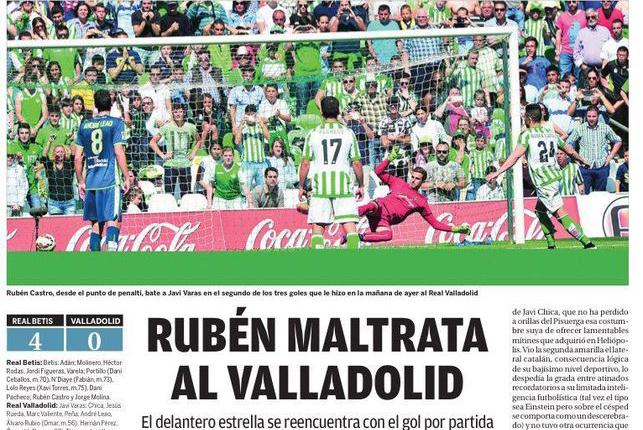 La Razón apoya a Rubén Castro presunto maltratador