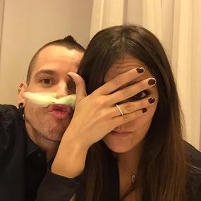 David Muñoz a Cristina Pedroche: ''Contando los días para que vuelvas''