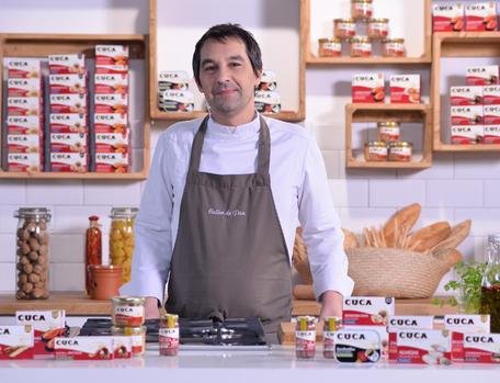 Deleita tus sentidos con el show cooking de Javier Olleros
