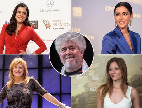Emma Suarez, Adriana Ugarte, Inma Cuesta y Michelle Jenner. Pedro Almodovar.