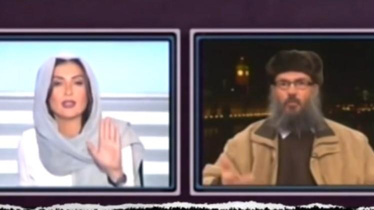 entrevistadora libanesa clérigo islámico