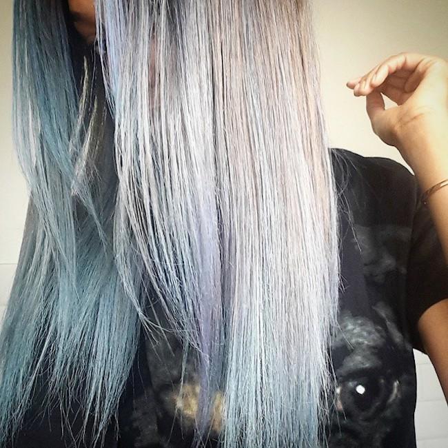 Jourdan Dunn Blue Hair