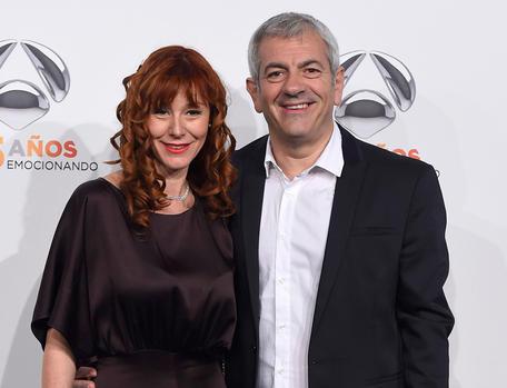 Carlos Sobera y Patricia Santamarina