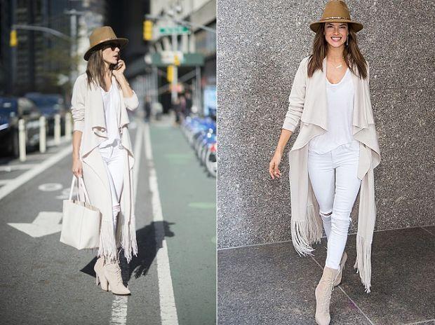 Alessandra ambrosio look street style