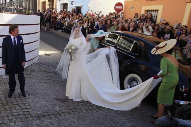 Eva González vestido de novia (2)
