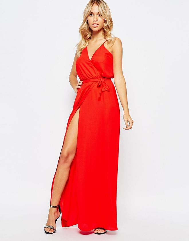 Vestido rojo asos 49,99