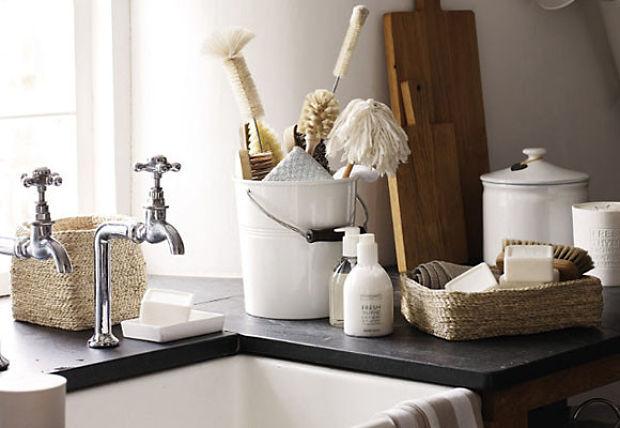 accesorios de decoración baño