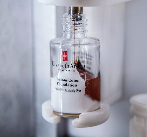 base de maquillaje personalizada de Elizabeth Arden