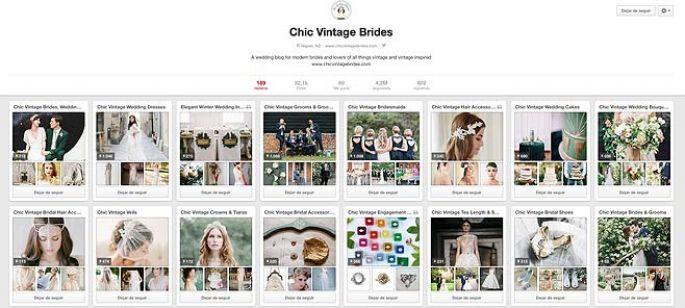 10 cuentas de Pinterest que inspirarán tu boda