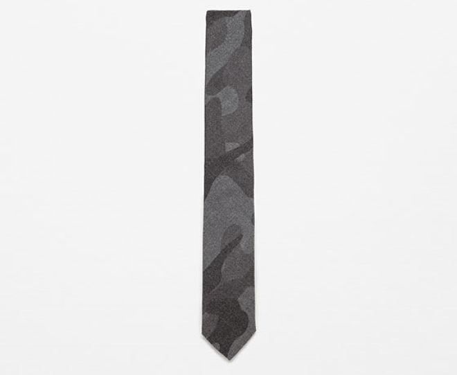 corbata camuflaje