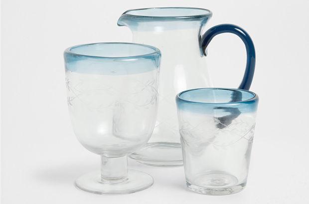 cristalería estilo nórdico