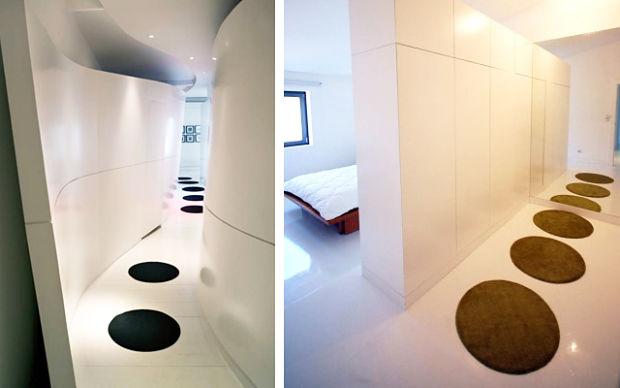 decoración de pasillos