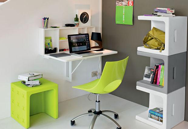 decorar la oficina con color