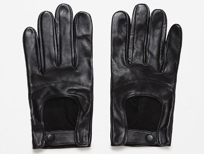 guantes piel hombre