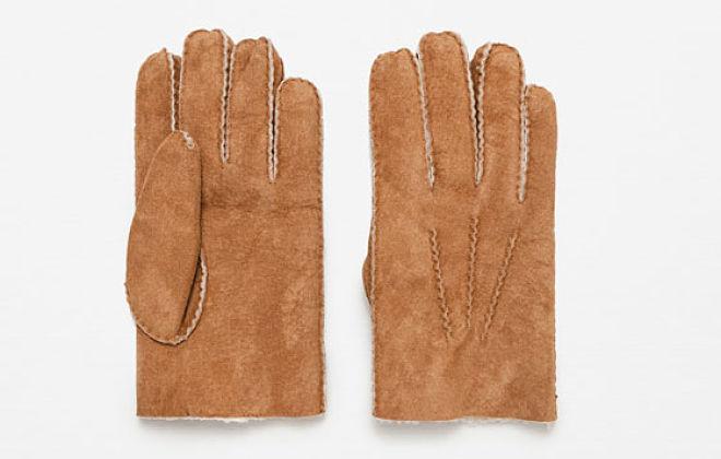 guantes serraje hombre