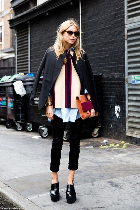 Look de Pernille es una de las mejores bloggers internacionales.
