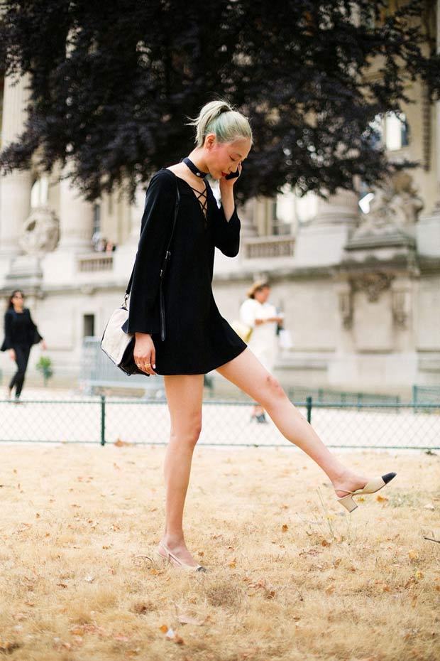 ¡Amancio queremos un clon de los zapatos bicolor de Chanel!