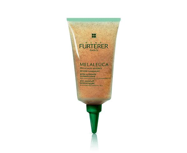 Melaleuca exfoliante para el cuero cabelludo
