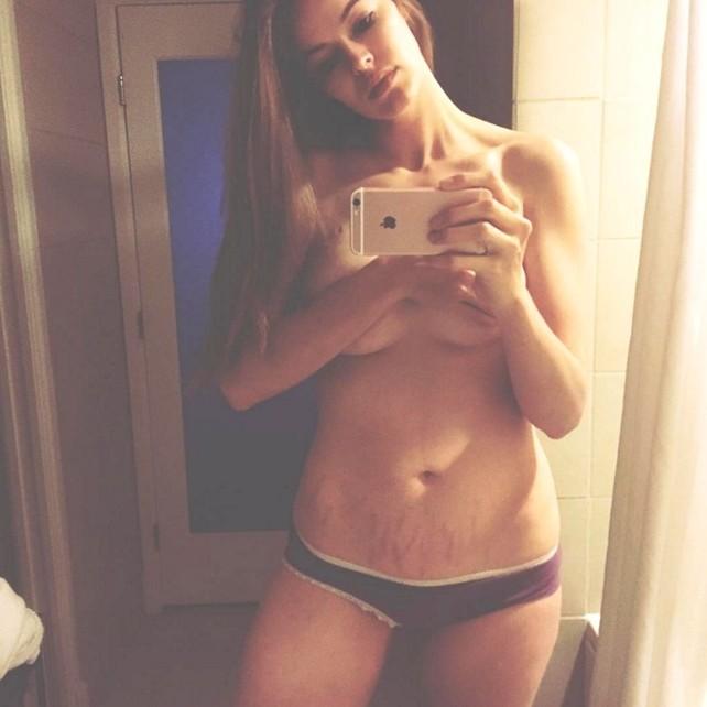 El selfie de Robyn Lawley.