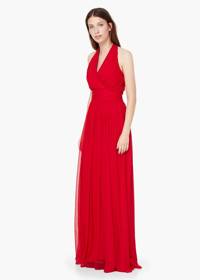 vestido rojo man