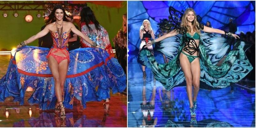 victorias secret Desfilaron los 'ángeles' de Victorias Secret con alguna crítica