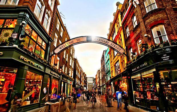 visitar londres Carnaby Street