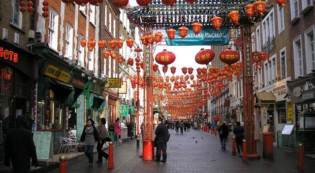 Visitar Londres Chinatown