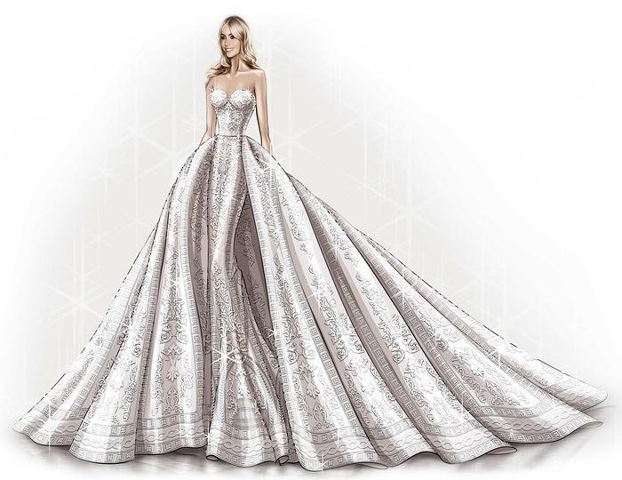 Sofia Vergara's wedding dress