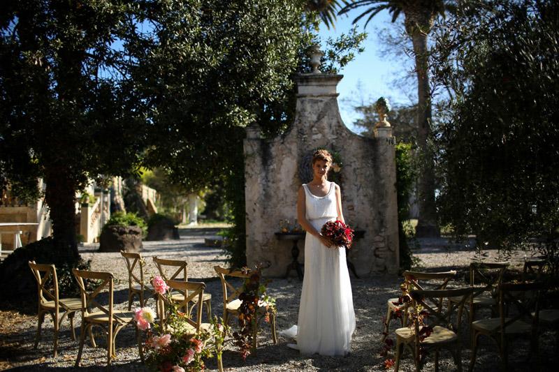 Inspiración boda de otoño en Heretat Sabartés · Foto Sublim · Tendencias de Bodas Magazin