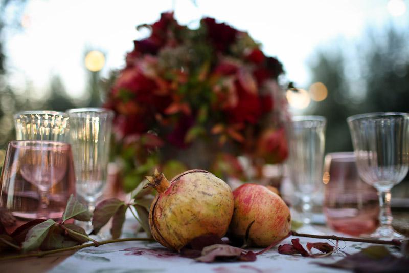 Inspiración: boda de otoño en Cataluña