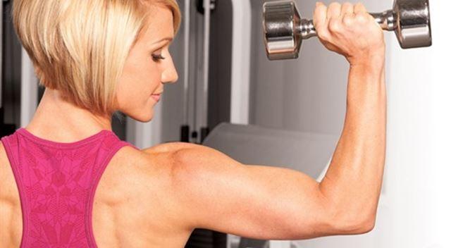 Rutina de ejercicios de brazos, hombros y pecho
