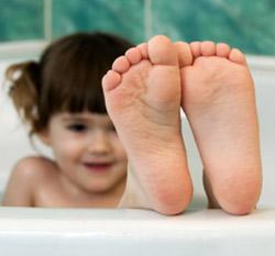 pie de atleta en niños