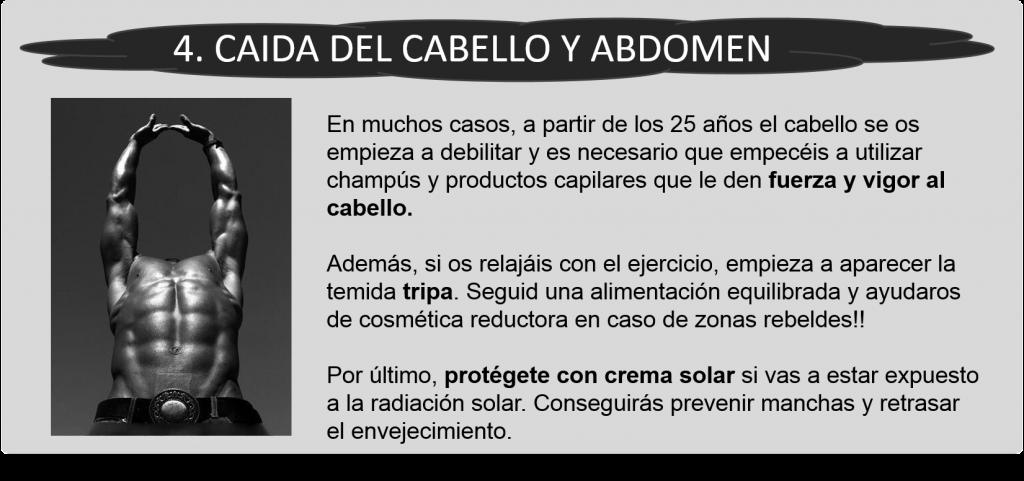 4 Cabello y abdomen