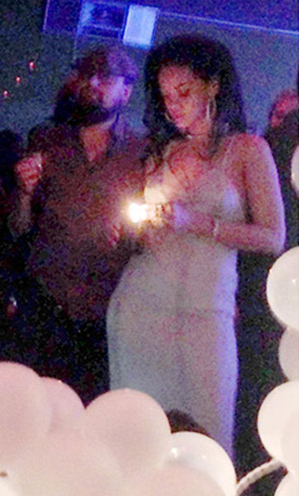 Leo DiCaprio- y Rihanna